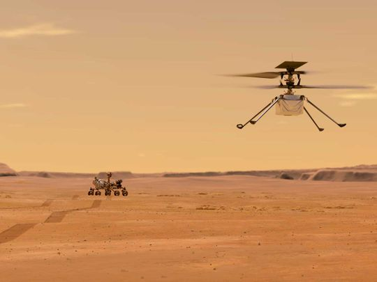 NASA wants to fly a helicopter on Mars for the first time