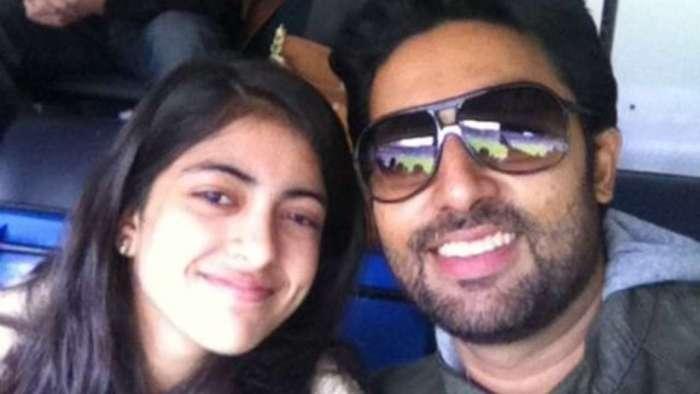Navya Naveli Nanda wishes 'favourite family member' Abhishek Bachchan a happy birthday with throwback photo