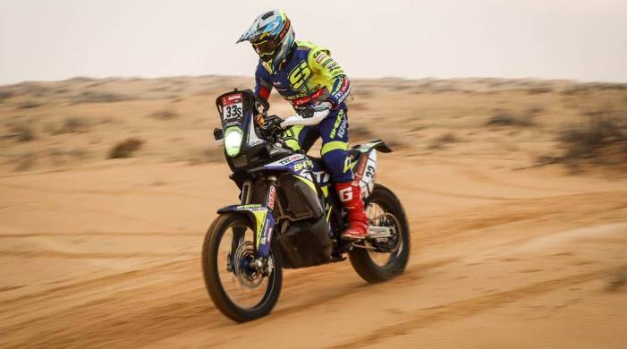 Noah's arc: Riding in Kerala fields to conquering Dakar, pit stop in Germany