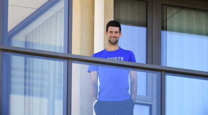 Novak Djokovic says players are unwilling to continue season with quarantines