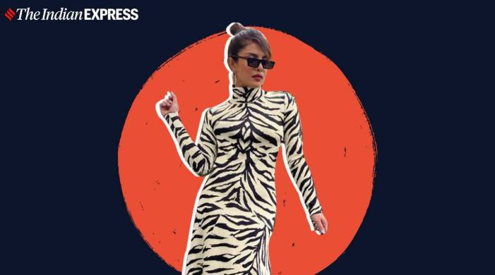 Priyanka Chopra Jonas twins with her 'cub' in a White Tiger-inspired outfit