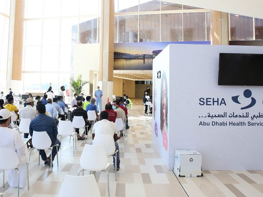 Seha vaccination centres to stay closed on weekends