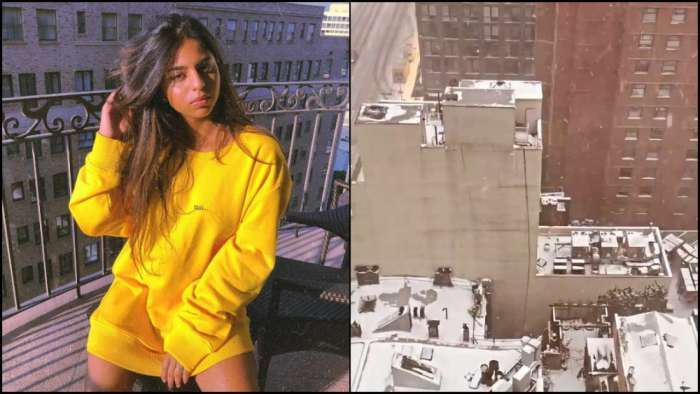 Shah Rukh Khan's daughter Suhana Khan touches down in NYC, shares a glimpse of snowy Manhattan