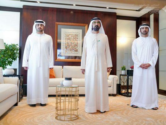 Sheikh Mohammed bin Rashid swears in first Emirati female judge