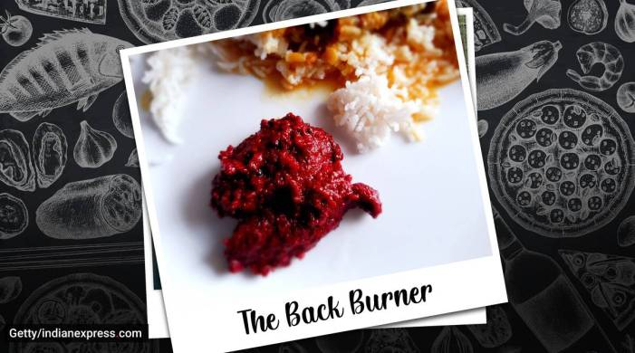 The Back Burner: A beetroot chutney you will love