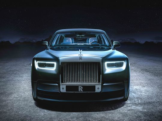 The Rolls-Royce Phantom Tempus is inspired by Time, and it has no clock!