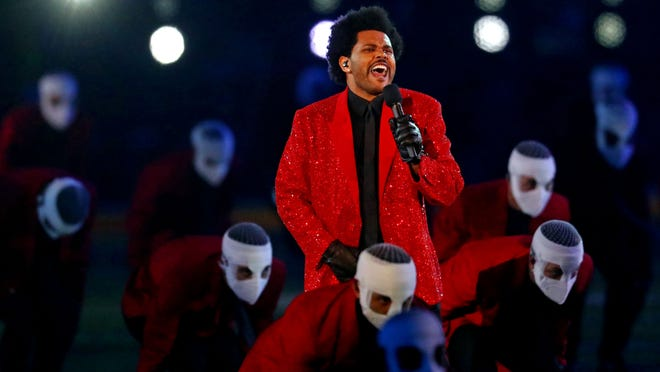 The Weeknd delivers a capable and charismatic Super Bowl halftime show