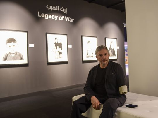 Xposure 2021: UK photographer explains why his war portraits are about love