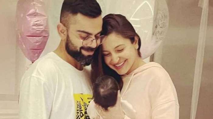 Anushka Sharma holds baby Vamika close as Virat Kohli and team RCB land in Mumbai, see pic