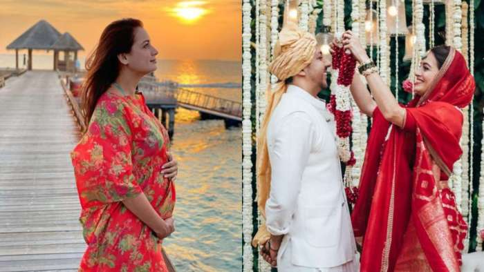 Did mom-to-be Dia Mirza marry Vaibhav Rekhi because she was pregnant? Actor responds