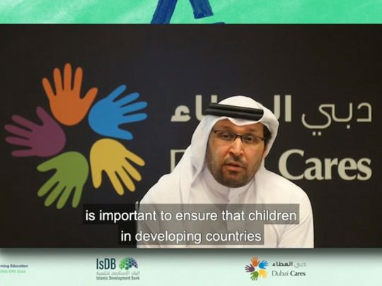 Dubai Cares joins $5 billion drive for education in developing countries