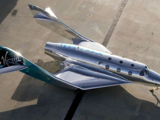 Look: Virgin Galactic unveils VSS Imagine, the latest generation of spaceship