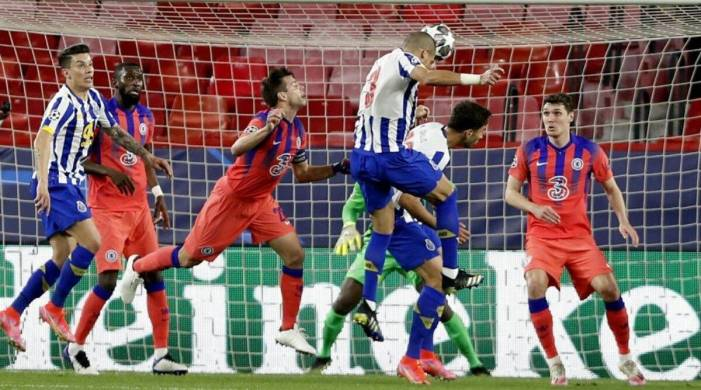 Solid Chelsea beat Porto 2-0 in 1st leg of CL quarterfinals