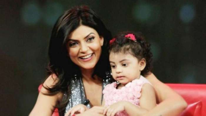 Sushmita Sen shares video of younger daughter reading emotional essay on adoption