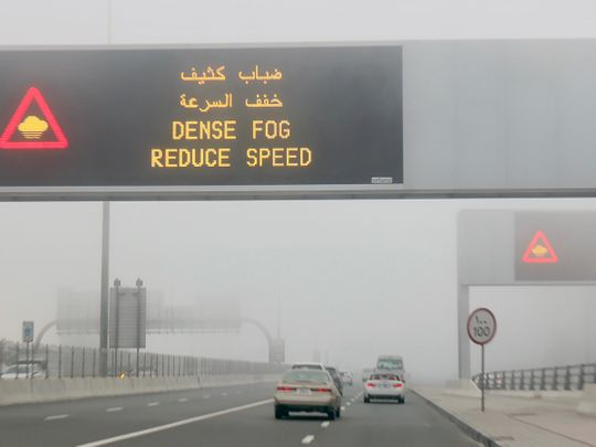 UAE weather: Drivers beware, fog alert out in Abu Dhabi and Dubai, clear to partly cloudy skies especially in Fujairah, humidity to increase at night