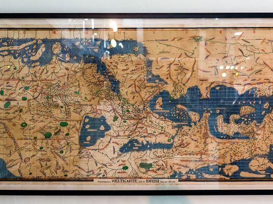 Rare maps of the world intrigue visitors at Sharjah show