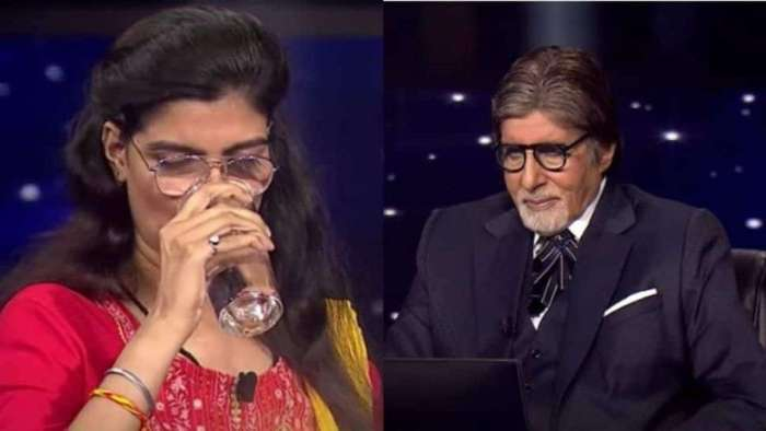 Amitabh Bachchan introduces visually impaired contestant who will play for Rs 1 crore- watch