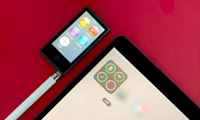 Don't Throw Away Your Old iPod nano – It Could Charge Your Apple Pencil