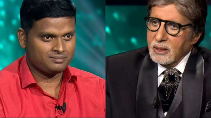 FIRST contestant Gyaanraj takes home 3.2 lakhs in Amitabh Bachchan hosted show
