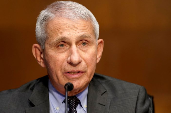 Fauci says he hopes U.S. will have 'some good control' by spring 2022