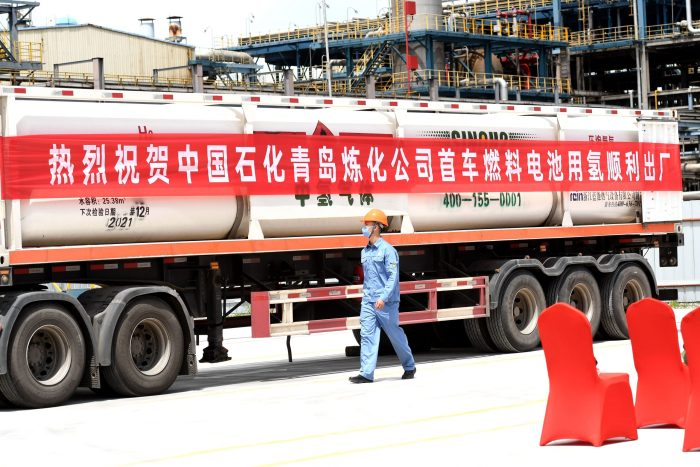 Fuel cell vehicles set for gains in China truck market