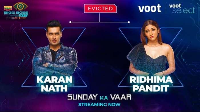 Ridhima Pandit-Karan Nath eliminated from Karan Johar's show