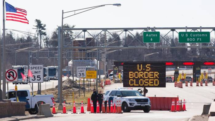 U.S. Extending Its Border Closures, Despite Canada Reopening To Americans