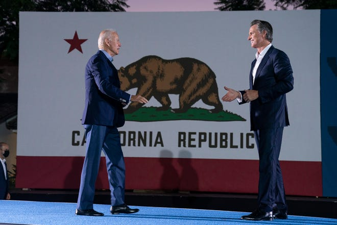 'Eyes of the nation are on you': Biden urges California voters to reject recall and keep Newsom as governor