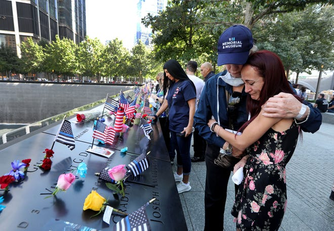 'It doesn't get easier': Grief at Ground Zero still palpable 20 years after 9/11