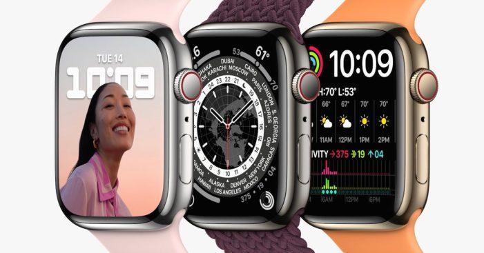 Apple Watch Series 7 has the same processor as last year's Apple Watch Series 6