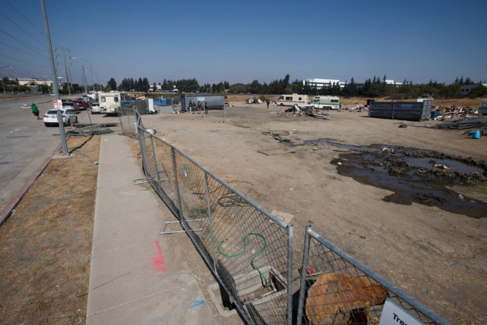 Apple clears San Jose encampment, puts homeless residents up in motels