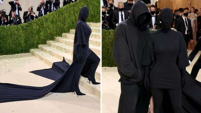 Did Kanye West attend MET Gala 2021 with Kim Kardashian? Know who was the mystery man with her