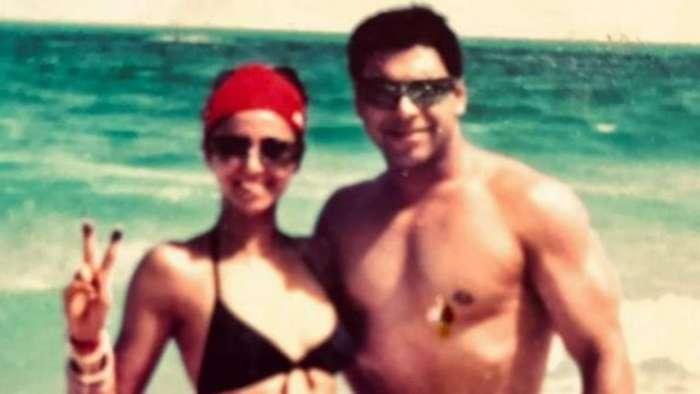 Gautami Kapoor shares unseen honeymoon photo with Ram Kapoor, takes internet by storm with her bikini top avatar