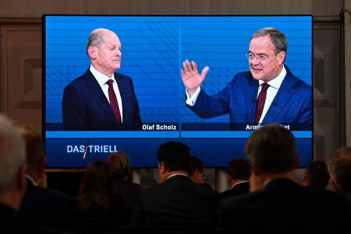 German election battle heats up as Socialist frontrunner wins TV debate