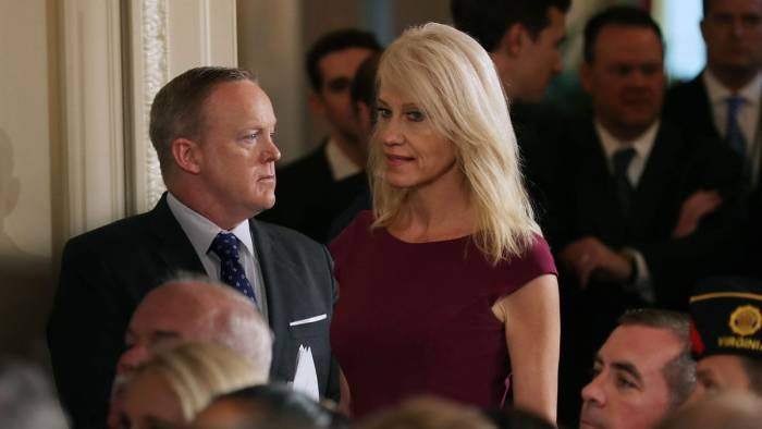 Kellyanne Conway, Sean Spicer Among Trump Loyalists Ousted From Advisory Boards After Refusing To Resign