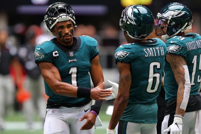 NFL scores, updates: Rookies DeVonta Smith, Trey Lance, Ja'Marr Chase make instant impact