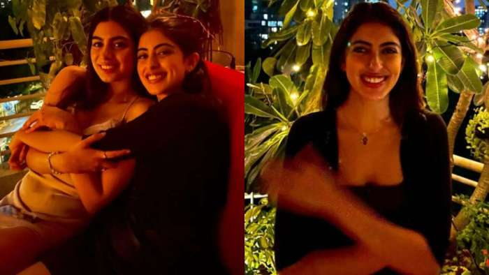 Navya Naveli Nanda poses with 'partner' for a night out in the town