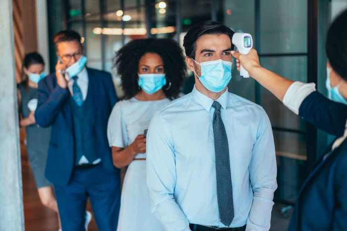 Office tensions rise between the vaccinated and unvaccinated