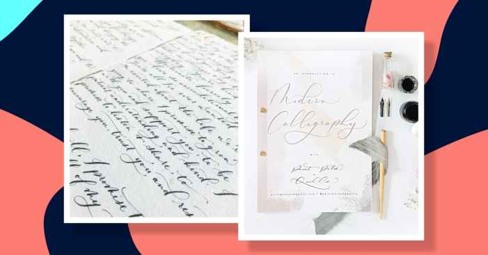 Start penning beautiful letters with this expert guide to modern calligraphy