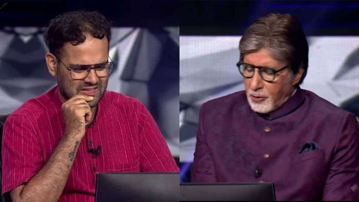 UPSC aspirant Akshay fails to answer THIS question for Rs 12.5 lakhs, gets life advice from Amitabh Bachchan