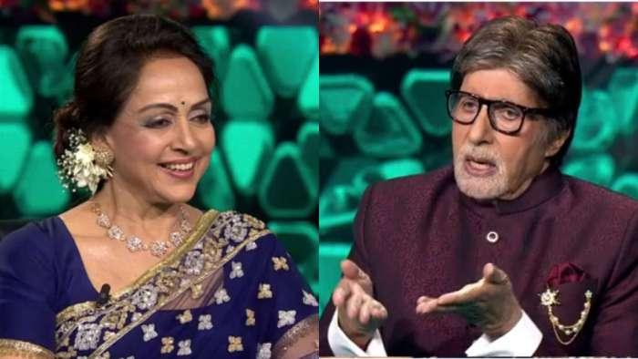 'KBC 13': What in Hema Malini's tiny purse left Amitabh Bachchan speechless
