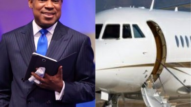 Photo of Pastor Chris Oyakhilome reportedly receives a private jet from his members