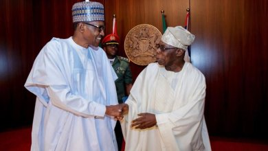 Photo of Buhari hits Obasanjo over Fayose, Ladoja, Obi