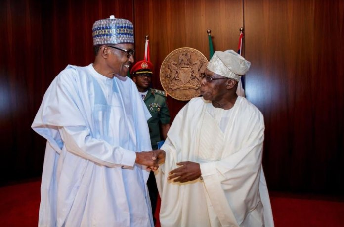 Buhari and Obasanjo