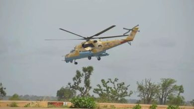 Photo of 5 killed in Airforce chopper crash in Borno