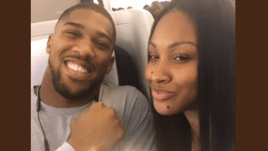 Photo of Anthony Joshua arrives in Nigeria after many years