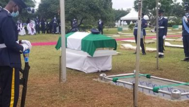 Photo of Just In: Tolu Arotile, Nigeria's First Female Helicopter Combat Pilot, Laid To Rest In Abuja (Photos)
