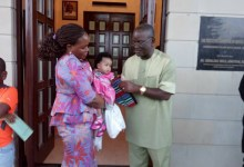 Photo of Benue First Lady, son, staff test positive for COVID-19