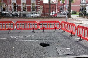 Oxford Road hole