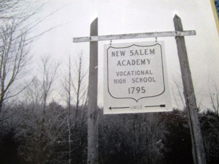 NewSalemAcademySign